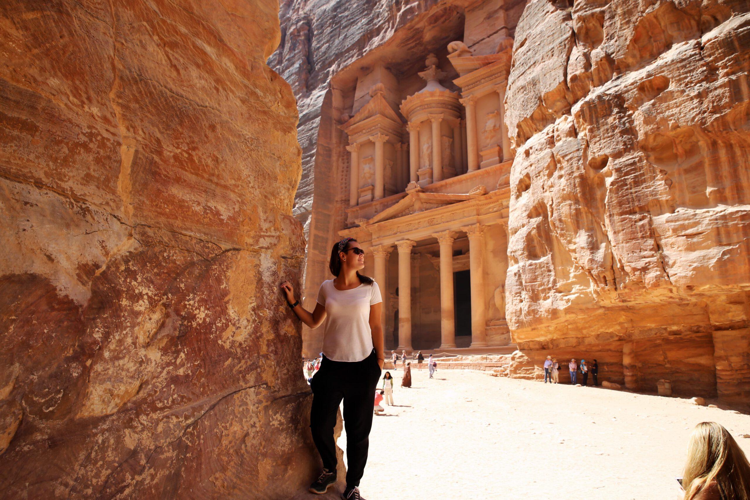 jordanie petra uitzicht